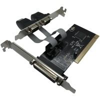 Placa PCI 2 Seriais 1 Paralela com Low Profile JPP-02