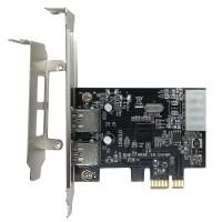 Placa PCI-E USB 3.0 Express 2 Portas JPU-03