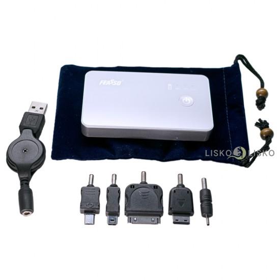 Mini Carregador Portátil Power Bank 3000mAh