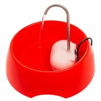 Fonte Bebedouro Bivolt Aqua Mini Vermelha para Cães e Gatos