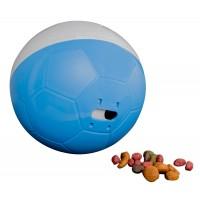 Comedouro Crazy Ball Azul e Branco 300g