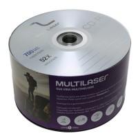 Mídia Virgem CD-R 700mb / 80min CD051 - 50 unidades
