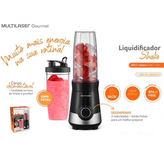 Liquidificador Shake 800ml 127V 300W BE013