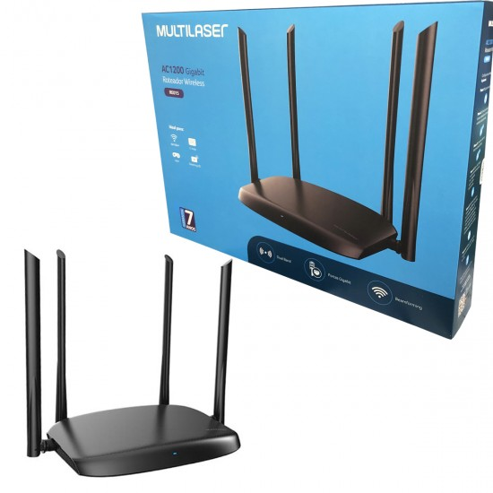 Roteador Wireless Dual Band Gigabit AC1200 RE015