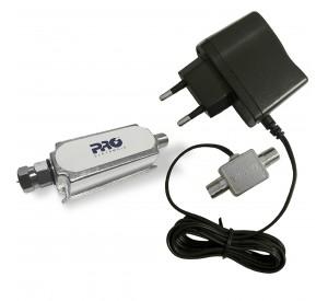 Booster Amplificador para TV Digital LTE 40dB PQBT-4000LTE
