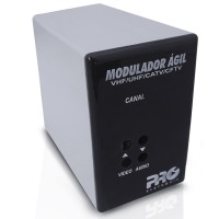Modulador Ágil VHF UHF CATV CFTV PQMO-2600G2