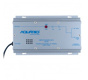 Amplificador de Potência CATV 54-1000MHz 35dB AP-35