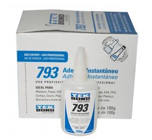 Adesivo Instantâneo 793 - 10 unidades de 100g