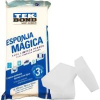 Esponja Mágica para Limpeza Pesada - 3 Unidades