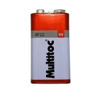 Baterias 9V 330mAh - 10 Unidades