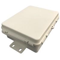 Caixa Hermética Branca Mini 17x13,5x6,5cm