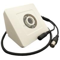 Câmera de Segurança CCD Color IR10 Triangular