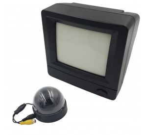 Kit Vigilância com Monitor 6 Polegadas e Câmera
