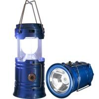 Lanterna Lampião Portátil e Recarregável de LED - Azul