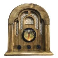 Radio Antigo Retrô Imperador AM/FM e Bluetooth - 127V/220V ou Bateria