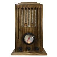Radio Antigo Retrô Torre AM/FM e Bluetooth - 127V/220V ou Bateria